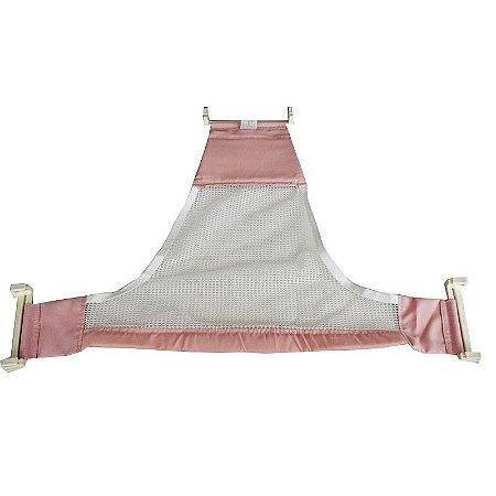 Rede de proteção para banho - rosa