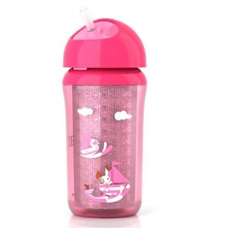 Copo térmico rosa 12+ 260 ml -  Philips Avent