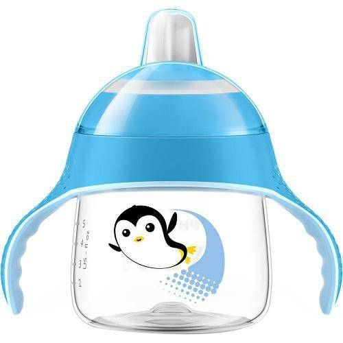 Copo pinguim 6m+ azul 200 ml - Philips Avent