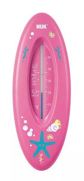 Termômetro de banheira rosa - Nuk