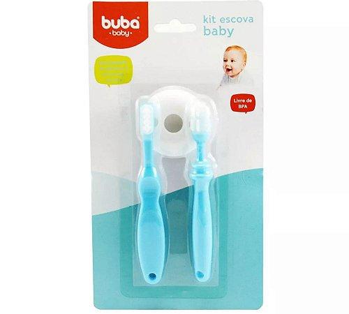 Kit escova azul - Buba