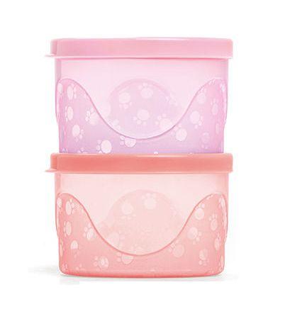 Kit de Potes Infantis 300 ml rosa - Cajovil