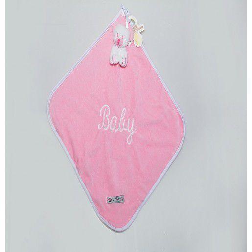 Naninha ursinho rosa - Zip Toys