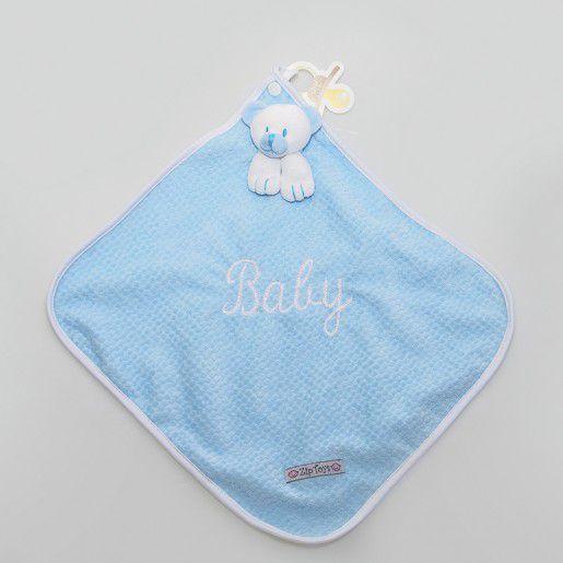 Naninha ursinho azul  - Zip Toys
