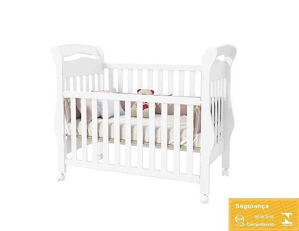 Berço Americano Bambini Branco Brilho - Matic Móveis