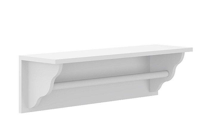 Prateleira Porta Fraldas Branco - Multimóveis