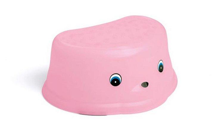 Degrau Infantil rosa - Cajovil
