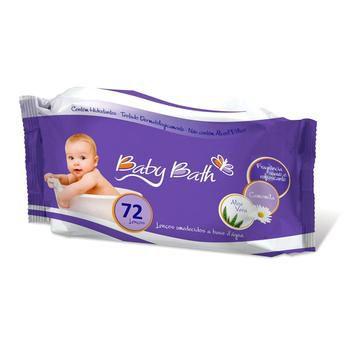 Lenços Umedecidos - Baby Bath Pocket c/72
