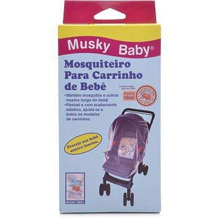 Mosquiteiro para carrinho - Musky Baby