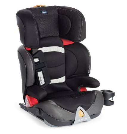 Cadeira para Auto Oasys 23 Fixplus Evo jet black 0 a 25kg - Chicco