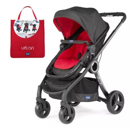 Carrinho Urban Red Passion Completo - Chicco