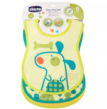 Babador Easy Meal Verde - Chicco