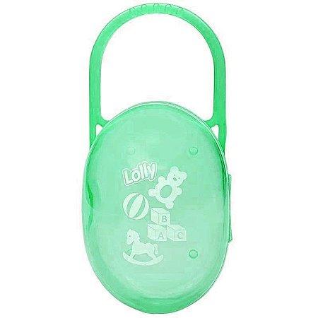 Porta Chupeta Verde - Lolly