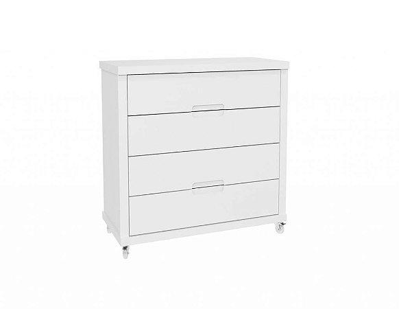 Gaveteiro Tutto Branco Soft - Matic Móveis