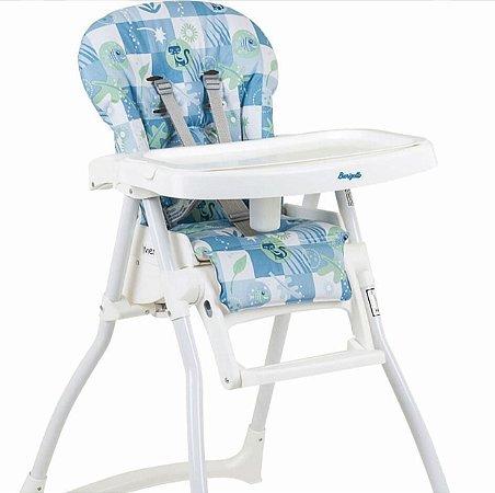 98a648ab053d Cadeira Refeição Merenda Peixinho Azul - Burigotto