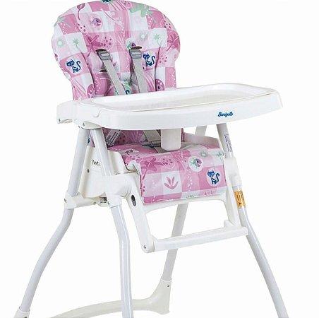 Cadeira Refeição Merenda Peixinho Rosa - Burigotto