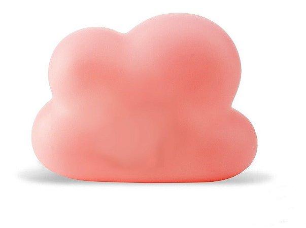Luminária Nuvem Rosa com Fio - Decorfun