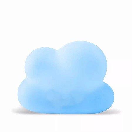 Luminária Nuvem Azul com Fio - Decorfun