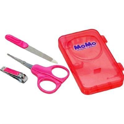 Kit Manicure com Caixa Organizadora Rosa - Momo