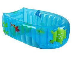 Banheira Inflável Nemo Azul - Burigotto