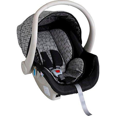 Bebê Conforto Cocoon Preto com Cinza 0 a 13kg - Galzerano
