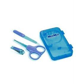 Kit Manicure com Caixa Organizadora Azul - Momo
