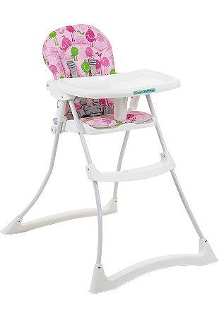 Cadeira Bon Appetit Passarinho rosa - Burigotto