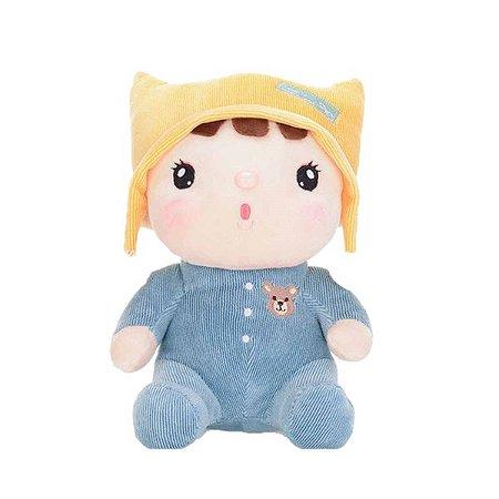 Boneca Metoo Sweet Candy Bebê Azul
