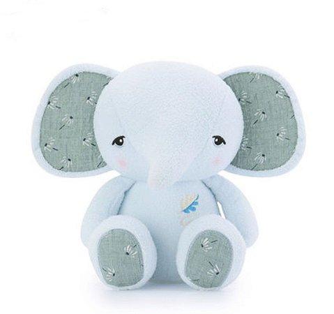 Pelúcia Metoo Elefante Azul