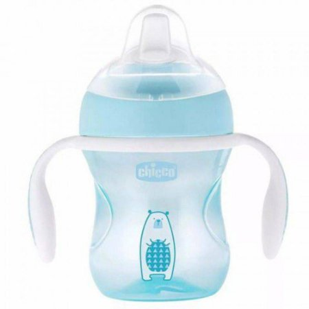 Copo Transition 4M 200ml Azul - Chicco