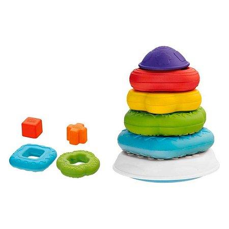 Brinquedo Torre De Anéis 2 Em 1- Chicco