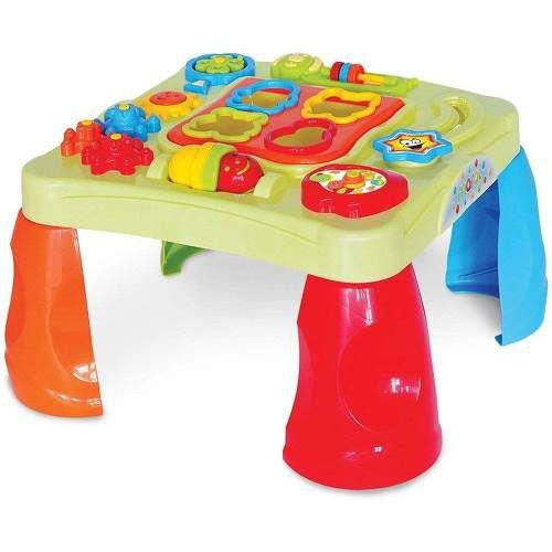 Mesa criativa bebê Infantil Interativa - Maral