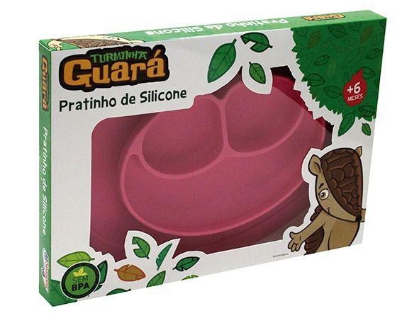 Prato de Silicone Rosa - Avent