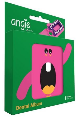 Porta Dentinho Rosa - Angie