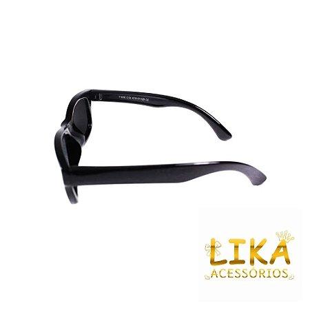 Óculos de Sol Preto Inquebrável - Lika Nene