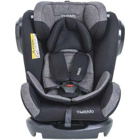 Cadeira para Auto 0 à 36 kg Strech Melange Preto - Kiddo