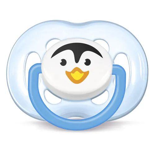 Chupeta FreeFlow Unitária 6 a 18 Pinguim - Philips Avent