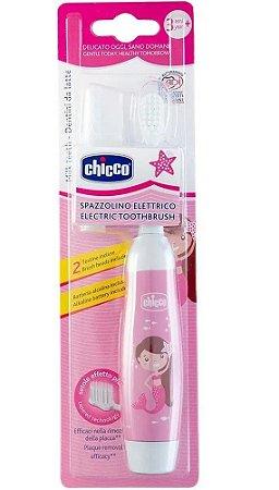 Escova De Dentes Elétrica Rosa 3+ - Chicco