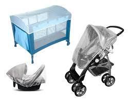 Mosquiteiro universal - Proteção para Carrinho/Berço/ Moisés - Multikids baby