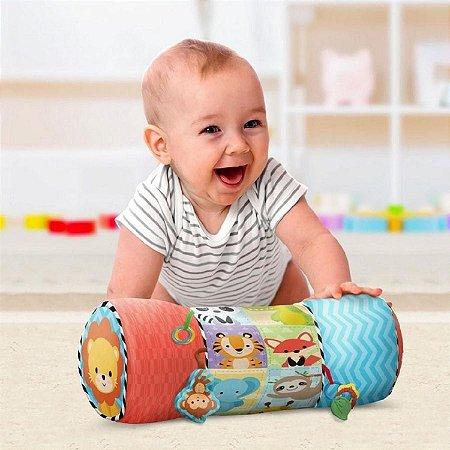 Almofada Rolinho Atividades - Buba Baby