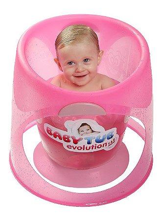 Ofurô Evolution 0-8 meses Rosa - Baby Tub