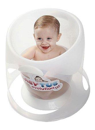 Ofurô Evolution 0-8 meses Translucido - Baby Tub