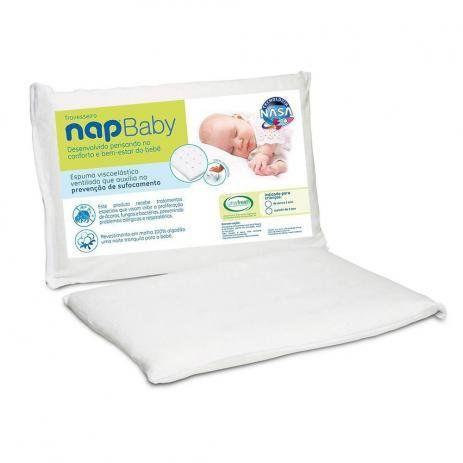 Travesseiro Nasa de Zero a 1 Ano - NapBaby