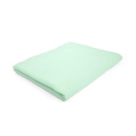 Lençol de Elástico Berço Desmontável Verde - 107 x 73 x 10 cm