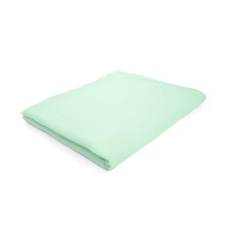 Lençol de Elástico Berço Desmontável Verde - 92 x 63 x 10 cm