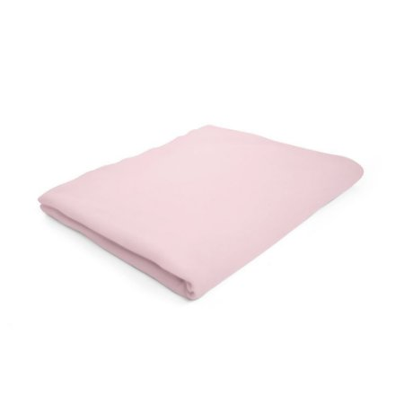 Lençol de Elástico Mini Cama Rosa - 150 x 70 x 10 cm