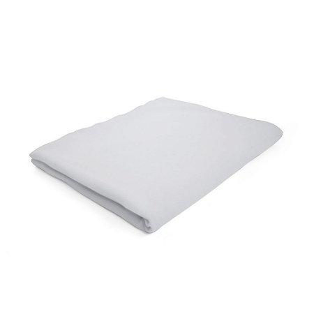 Lençol de Elástico Mini Cama Cinza - 150 x 70 x 10 cm