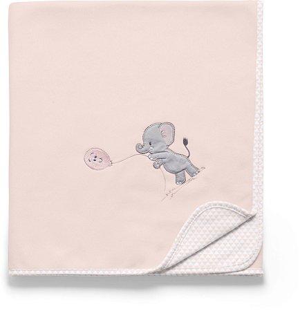 Manta Soft Lembranças de Infância Rosa - Hug