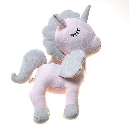 Unicórnio Bubu Cinza/Rosa - Bup Baby