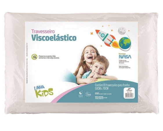Travesseiro Visco Kids - Fibrasca
